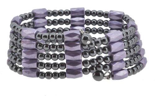 Magnetic Simulated Hematite Necklace Bracelet