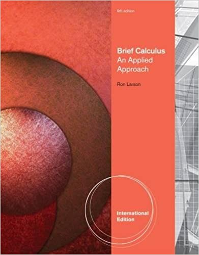 Brief Calculus: An Applied Approach, International Edition