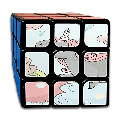Unicorn Horse Non-toxic Durable Lightweight Turning Comfortable Toys Games Cube Magic Cube 3x3x3 For Men&women Pre-Kindergarten