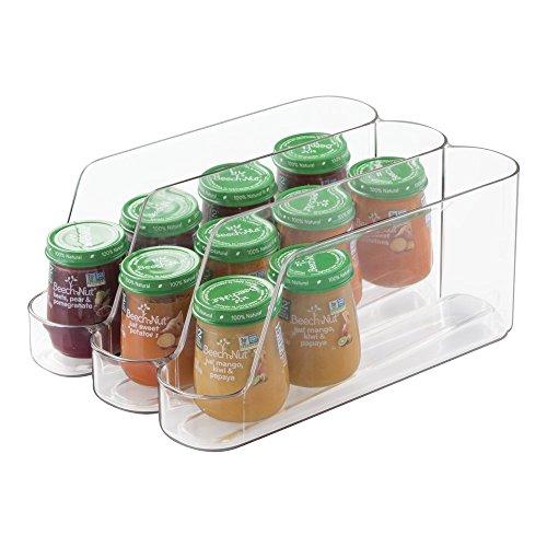 mDesign Stackable Dispenser Organizer Kitchen