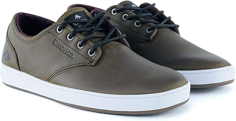 Emerica The Romero Laced Sneakers Herren Glattleder Braun