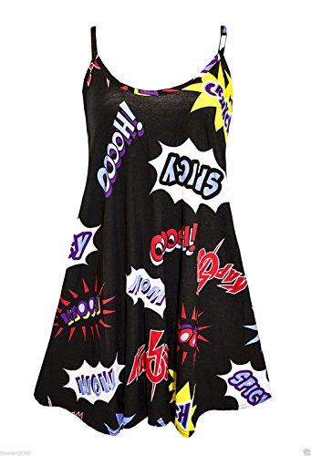 Uptown Girl - Camiseta sin mangas - para mujer KAPOW COMICS