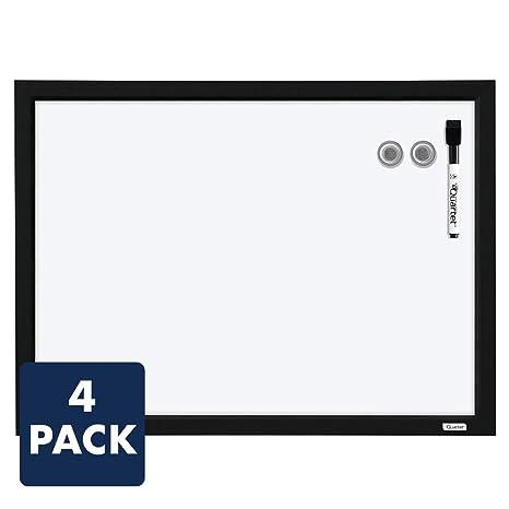 Amazon.com: Quartet MWDW1723M-BK - Pizarras magnéticas de 17 ...