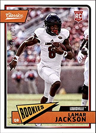 140b24c01 Amazon.com  2018 Panini Classics Red Back  209 Lamar Jackson 299 ...