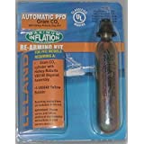 V86000-Automatic, 24 gram CO2, 1/2, Inflatable PFD Rearming Kit by Leland