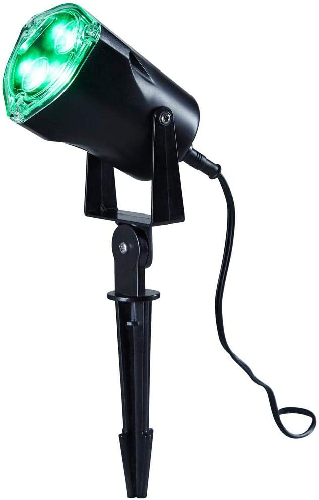 Home Accents Holiday Green LED Spotlight TYY2111-1815GR