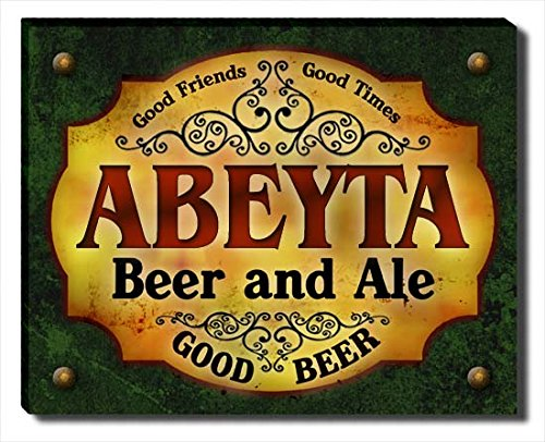 - ZuWEE Abeyta Family Beer and Ale Gallery Wrapped Canvas Print