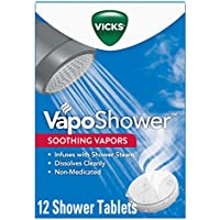 12-Count Vicks VapoShower Bomb Tablets