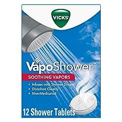 Vicks VapoShower, Shower Bomb Tablet, 12...