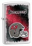 Zippo NFL Buccaneers Lighter, Silver, 5 1/2 x 3 1/2cm