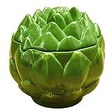 Artichoke Collectible Vegetable Ceramic Container