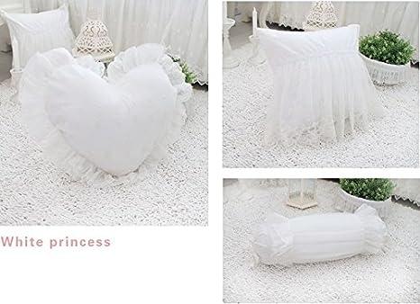 Textiles para el hogar FADFAY, elegante blanco puro del ...