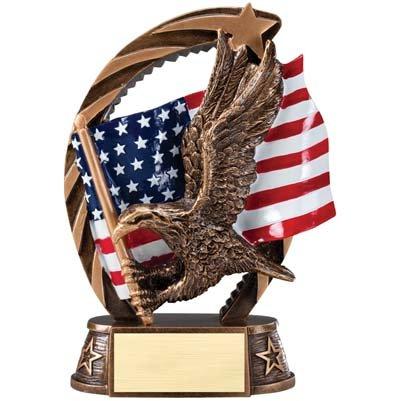 Order Fast Awards Elegant Eagle XL High Relief Resin Running Star Award Series