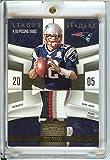Football NFL 2009 National Treasures League Leaders Prime Materials #9 Tom Brady MEM /25 Patriots
