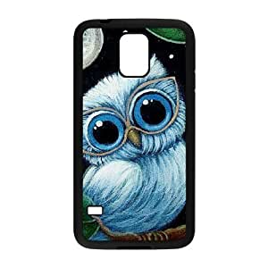 Owl The Unique Printing Art Custom Phone Case for SamSung Galaxy S5 I9600,diy cover case ygtg526439