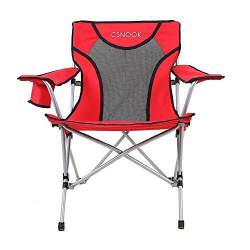Over-sized Broadband Mesh Quad Chair, Champing Folding chair for Outdoor, Sports, Beach, Extra (Over Mesh)