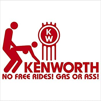 "Amazon.com: Kenworth Badge Version 2 Chrome Decal 5"" x 2 ...Kenworth Dump Trucks Graphics"