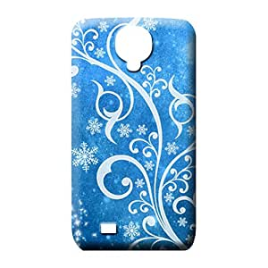 samsung galaxy s4 Collectibles durable colorful mobile phone carrying shells blue winter