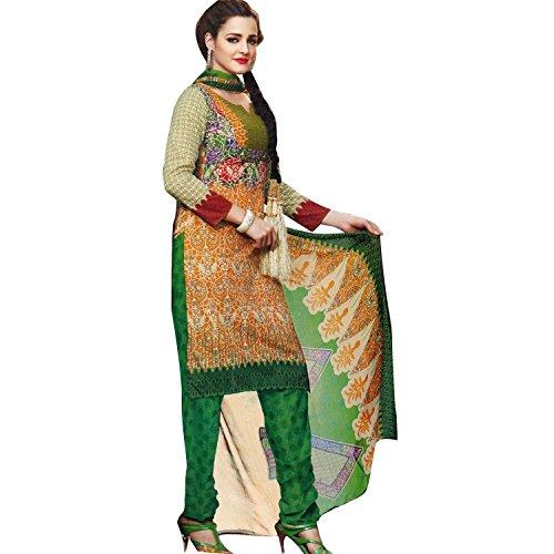 Ready to Wear Beautiful Printed Cotton Salwar Kameez Indian Dress Readymade Salwar Suit