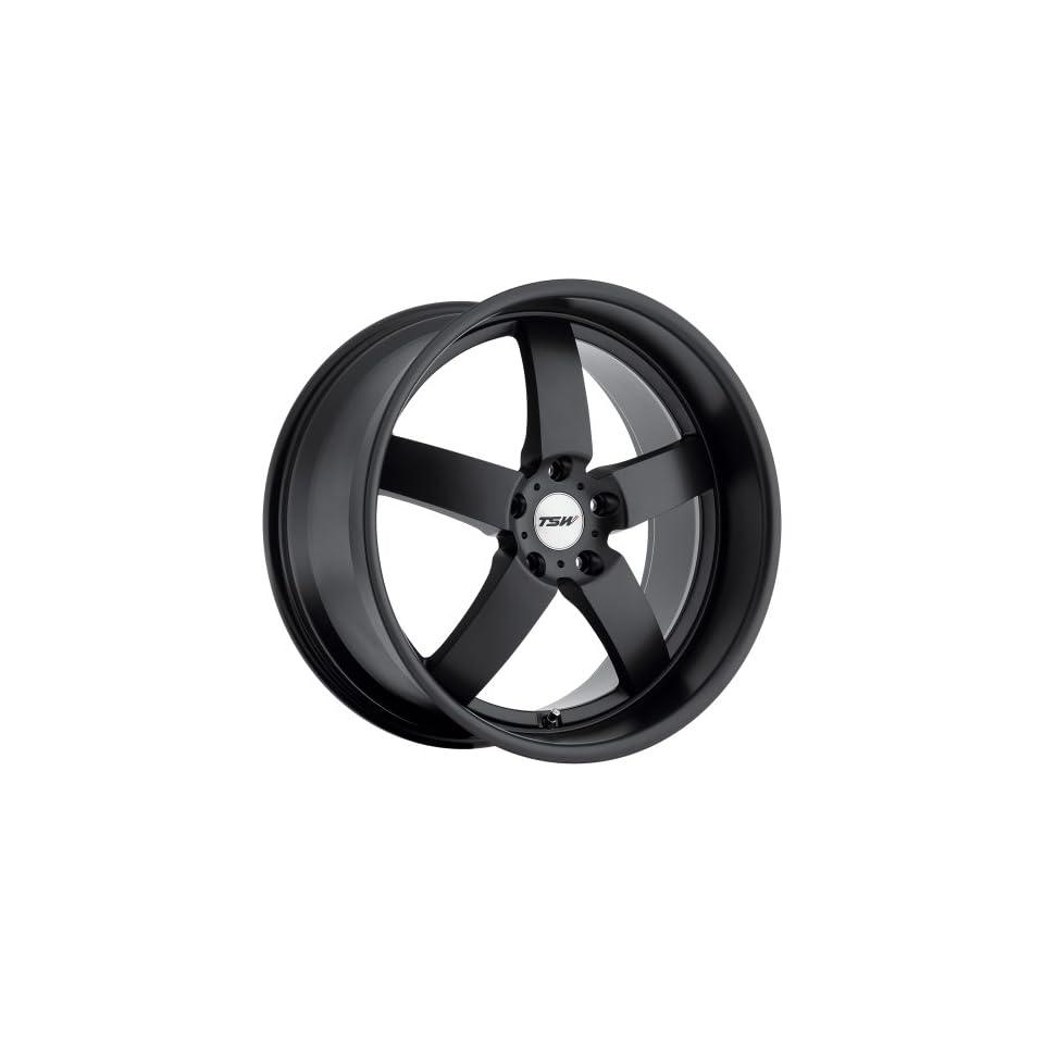 TSW Rockingham Wheel with Matte Black Finish (17x8/5x120mm)
