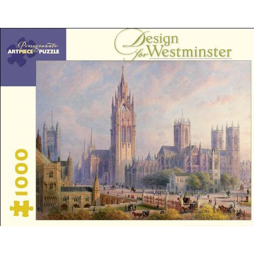 1000 Pcs Pomegranate Communications Inc. Design for Westminster Puzzle