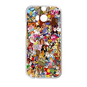Disney Cartoon White HTC M8 case