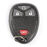 ACDelco 22936098 GM Original Equipment 4 Button Keyless Entry Remote Key Fob