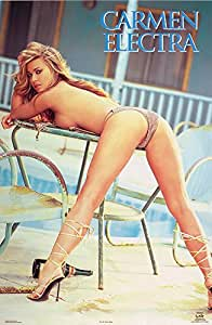 Carmen Electra - bent over - 24x36 - ART PRINT / POSTER Poster Print, 24x36