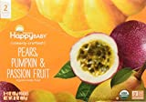 Happy Baby Stage 2 - Pears, Pumpkin & Passion Fruit - 4 oz, 8 ct