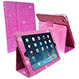 Connect Zone iPad Mini/iPad Mini 2 Cases Covers Stands Skins and Pouchs for Perfect Fit - Pink Diamond Glitter