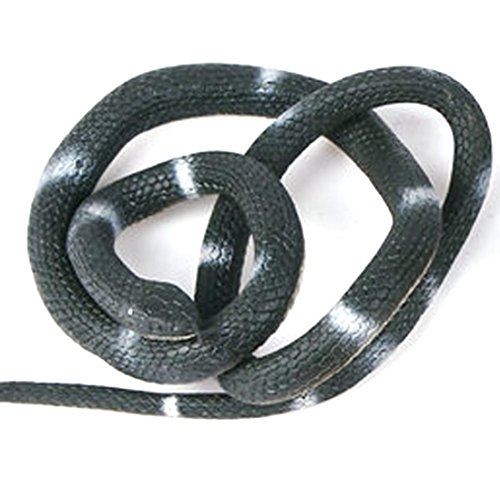 Gotd Halloween Props Decorations Décor Simulation Snake Soft Rubber Fake Funny Halloween Joke Funny Gags Trick Toy (A)