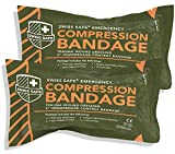 """Israeli 6"""" Compression Bandage [STERILE]: Authentic Compact Design for Emergency Wound Dressing, First Aid and Trauma Kit"""