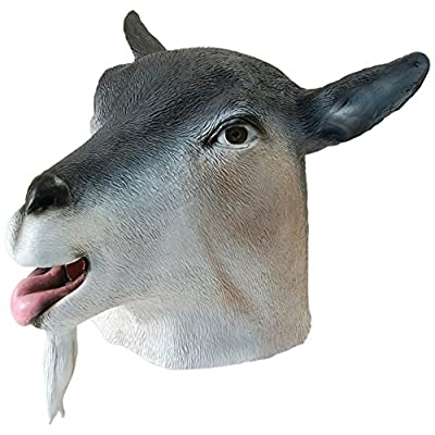 Bristol Novelty BM312 Goat Overhead Mask, One Size: Toys & Games