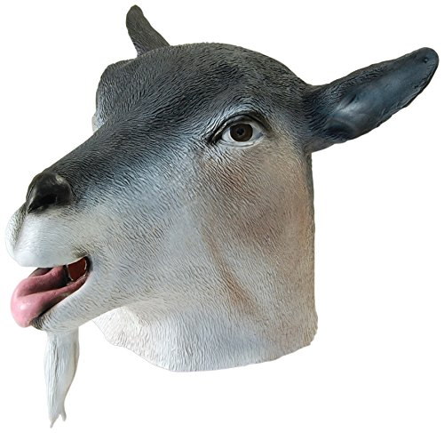Bristol Novelty BM312 Goat Overhead Mask (One Size)]()