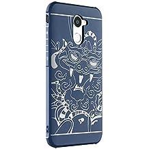 Huawei Honor 7 Plus Case- Xigua Soft TPU Huawei Honor 7 Plus Cover [Shock absorbent][Ultra-Thin][Lightweight][Anti-Scratch] for Huawei Honor 7 Plus Case (Blue)