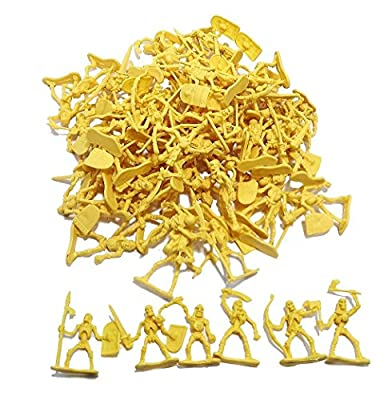 100 Piece Army Skeleton Warriors Ready to Take Over! from Hunson