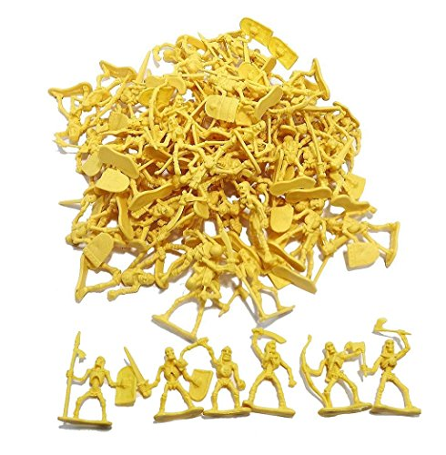 100 Piece Army Skeleton Warriors Ready to Take Over! by Hunson