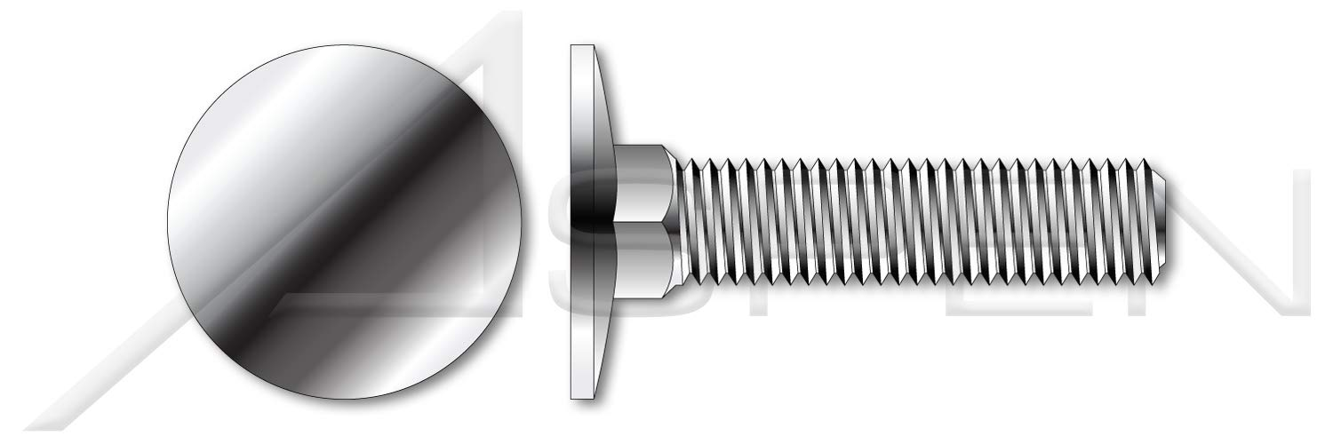 20 pcs 3//8-16 X 2-3//4 AISI 304 Stainless Steel 18-8 Tamper Resistant Penta Head Security Bolts