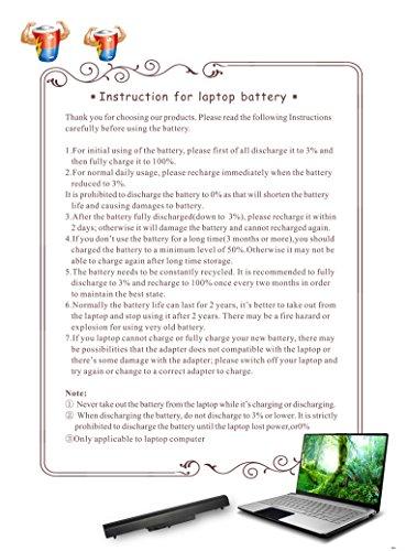 Baturu EV06 Laptop Battery for HP Pavilion dv4 dv5 G50 G60 G70 G71 G60-535DX Compaq Presario CQ60 CQ50 CQ40 CQ70 CQ45 484170-001 484171-001 484172-001 485041-001 485041-002 by BATURU (Image #6)