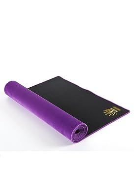 Antideslizante Yoga Mat --- 4mm caucho natural Protección ...