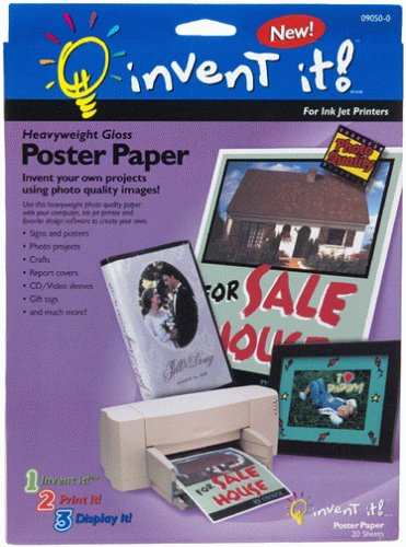 Invent It 90500 ! Poster Paper by Invent It