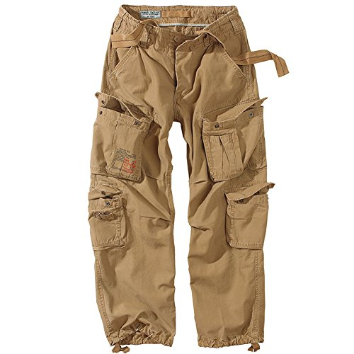 Surplus Airborne Vintage Trousers Coyote size ()