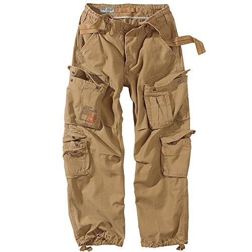 Trousers Vintage - Surplus Airborne Vintage Trousers Coyote size L