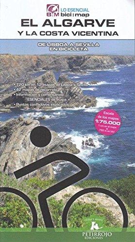 El Algarve y la Costa Vicentina: De Lisboa a Sevilla en Bicicleta (Bici:map) Tapa blanda – 8 mar 2017 Valeria Horvath Mardones Bernard Datcharry Tournois Petirrojo Ediciones 8494095293