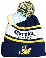 Corona Extra Pom Knit Beanie Hat