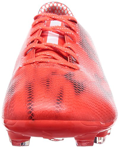 adidas F10 HG Mens Football Boots (Red-White-Black) Red