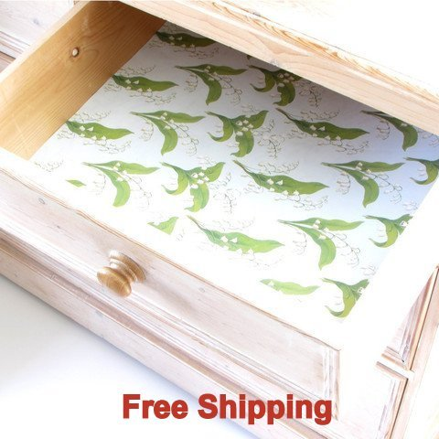 English Lily Scented Drawer Liners by Best British Gifts by Master Herbalist