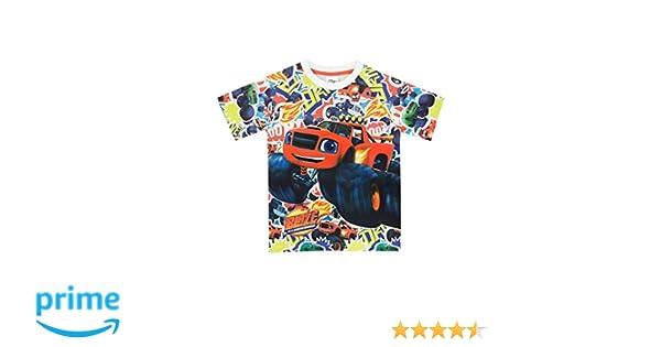 Blaze and the Monster Machines Camiseta para Niño - Blaze y Los Monster Machines: Amazon.es: Ropa y accesorios