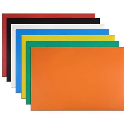 uxcell 7 piezas de tiras magnéticas flexibles de borrado en ...