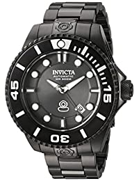 Invicta Men's 'Pro Diver' Automatic Stainless Steel Diving Watch, Color:Black (Model: 19810)